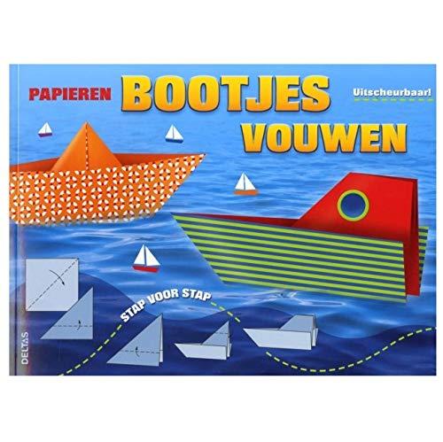 Papieren bootjes vouwen: uitscheurbaar