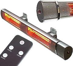 Radiador de infrarrojos de 3000 W, 56179, para pared o terraza, AWZ