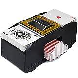 LTXDJ Mixer automatico per carte da poker, rommé, UNO (due tavole)
