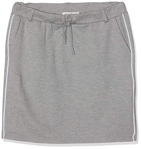 Name IT NOS Mädchen Rock Nkfidalic Skirt Noos Grau (Grey Melange), (Herstellergröße: 92)