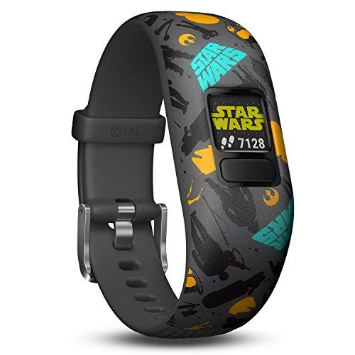 Garmin vívofit jr. 2 digitale, wasserdichte Action Watch im Star Wars - Der Widerstand Design für Kinder ab 4 Jahren, mit spannender Abenteuer-App, Schrittzähler, grau, Batterielaufzeit bis zu 1 Jahr