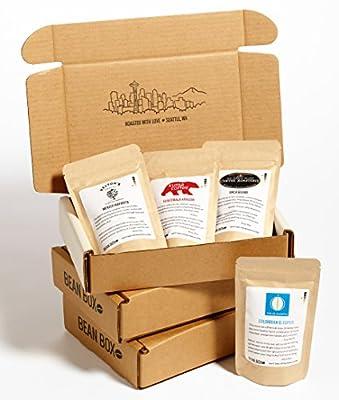 Bean Box - Gourmet Coffee Sampler - Gift Subscription