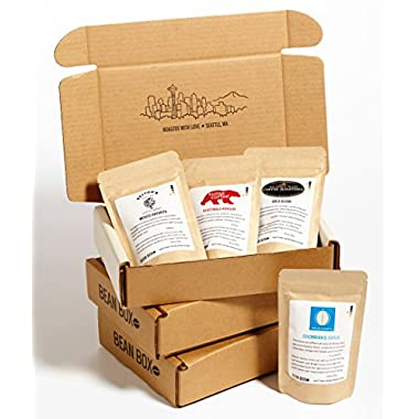 Bean Box - Gourmet Coffee Sampler - 3-Month Gift Subscription