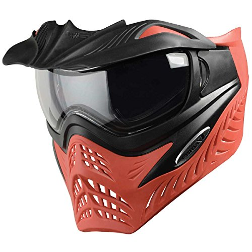 V-Force Paintball Maske Grill SC Scarlet grau/rot