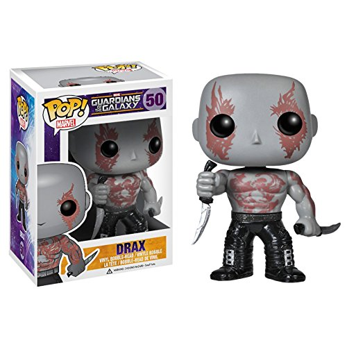 Drax: Funko POP! x Guardians of the Galaxy Mini Bobble-Head Vinyl Figure by Funko