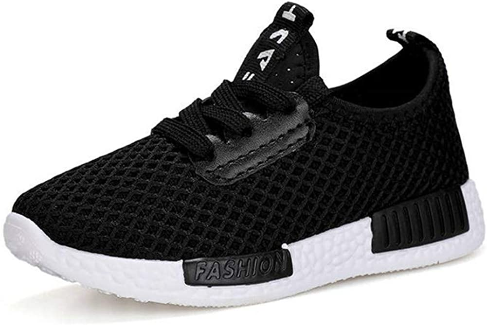 Exgingle Kids Sneakers Lightweight Running Walking Athletic Shoes for Boys Girls