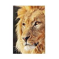 パズルStrong eyes of African lion 1000ピース 木製パズルミニ 大人の減圧 絶妙な誕生日プレゼント