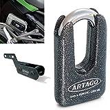 Artago 69T3 Antirrobo Disco Alta Gama y Soporte para Kawasaki Z900,...