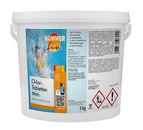 Summer Fun Chlor - Tabletten Mini 5 kg