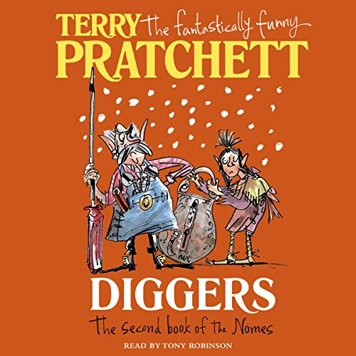 Diggers audiobook cover art