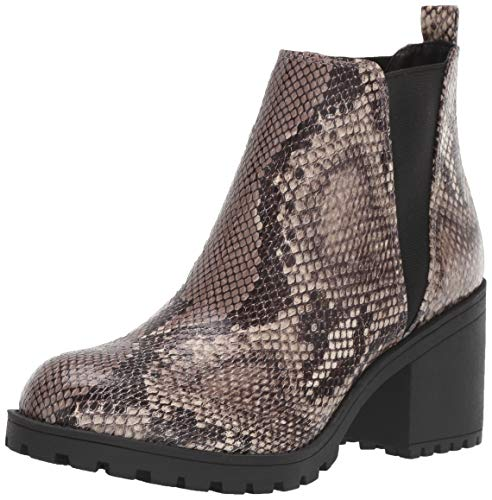 Dirty Laundry by Chinese Laundry Women's Lisbon Ankle Boot, Light Brown Snake, 9.5 M US