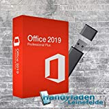 MS Office 2019 Professional Plus Lizenz-Key mit USB-Stick 32 / 64 Bit Deutsche Vollversion