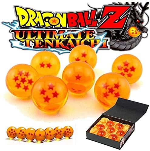 Dragon Ball Z- Stars Crystal Ball Set 7 PCS en una Caja