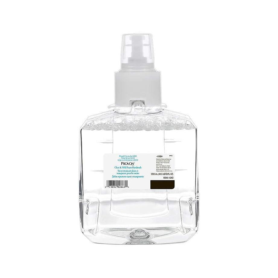 珍しい珍しい愚かProvon GOJ194102 Clear & Mild Foam HandWash Soap, Clear