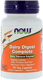 Now Supplements, Dairy Digest Complete, 90 Veg Capsules