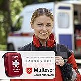 Notfall Erste Hilfe Set mit Inhalt aus Deutschland nach DIN 13167 + Notfallbeatmungshilfe + Burnshield-Gel für Brandwunden - 8