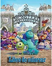 Monsters University Libro de colorear: Estás preparado para comenzar una divertida y mágica aventura con Sulley y Mike?