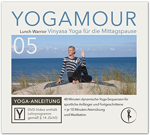 Basic Vinyasa Yoga Flow: Geführte Übungen für einen gesunden Körper - ideal für die Mittagspause - YOGAMOUR DVD 05