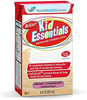 Boost Kid Essentials Supplement, Creamy Strawberry, 216 Fluid Ounce