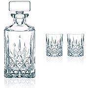 Spiegelau & Nachtmann, 3-teiliges Whisky-Set, Dekanter+ 2x Whisky-Becher, Noblesse,0091899-0