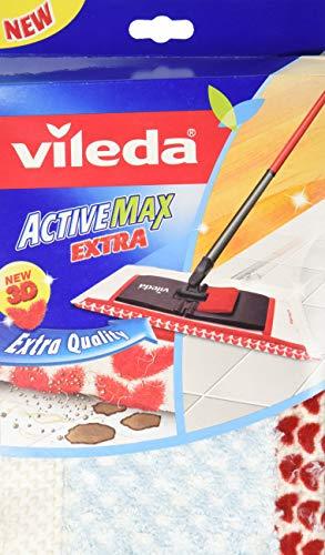Vileda VIL120890Ersatz-Wischbezug für Flachwischer, für Holzfußboden