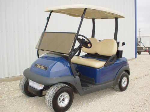 TINTED Club Car Precedent Golf Cart Windshield
