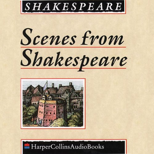 Scenes from Shakespeare audiobook cover art