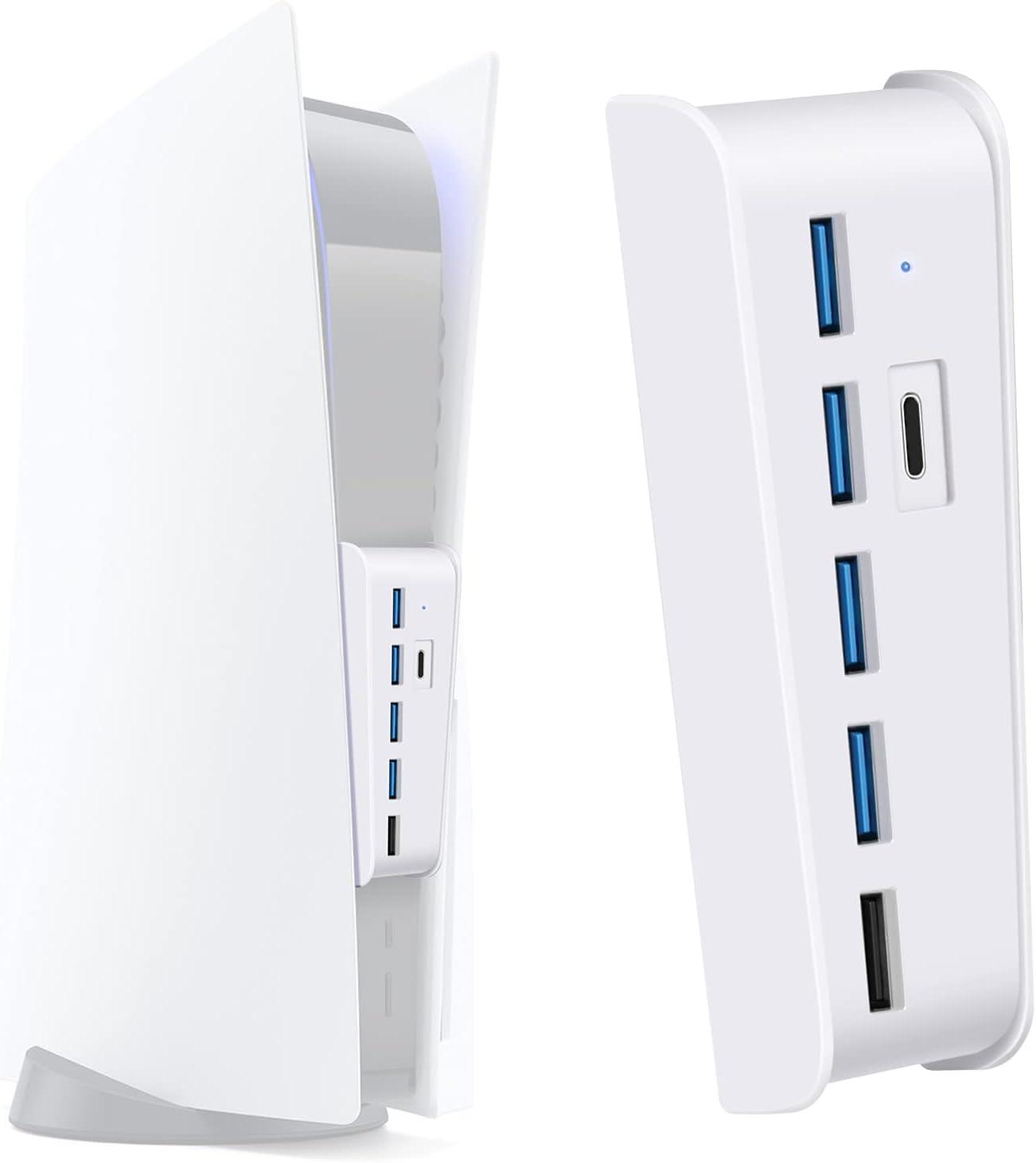 TNP PS5 USB Hub 3.1 Type Extension C Time sale Transmi High-Speed Tampa Mall