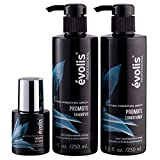 volis PROMOTE 3 Step System - Activator, Shampoo & Conditioner - Hair Growth Stimulating Treatment for Longer, Stronger Hair - Lengthens and Protects Hair - Keratin Hair Growth Treatment