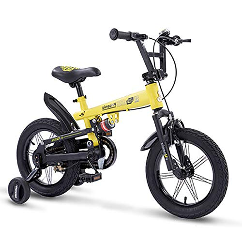 AI-QX 14-18 Pulgadas Bicicleta Infantil Estudio Aprendizaje Montar a Caballo Bicicleta niños...