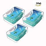 OFKPO Fil Dentaire, 60 pcs Porte-Fil Dentaire Floss Fil Dentaire Sticks Jetable Une Boîte, Cure-Dents à Dents Oral d'entretien (Boîte de 3)