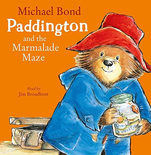 『Paddington and the Marmalade Maze』のカバーアート