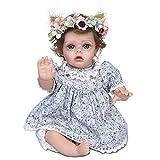 FTYUNWE 35 cm Reborn Baby Dolls Babypuppen Puppe e Baby Schöne echte Puppen Babyborn Aussehende Babypuppe Baby Soft Vinyl Silikon Baby Neugeborene Puppen