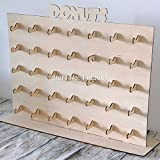 Kit para hacer expositor de donuts de madera DM para candy bar mesa dulce. Manualidades con madera. Medidas: 48 cm x 52 cm