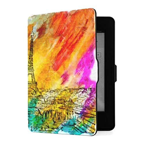 Slimshell Case für Amazon Kindle Paperwhite1 / 2/3 mit Auto Sleep/Wake, Bunte...