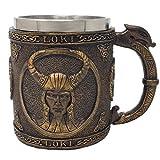 Unbekannt Krug nordischer Gott Loki - Kelch, Met, Götter