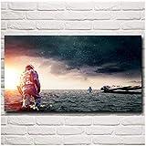 sjkkad Space Interstellar Film Stills Filmkunst Poster