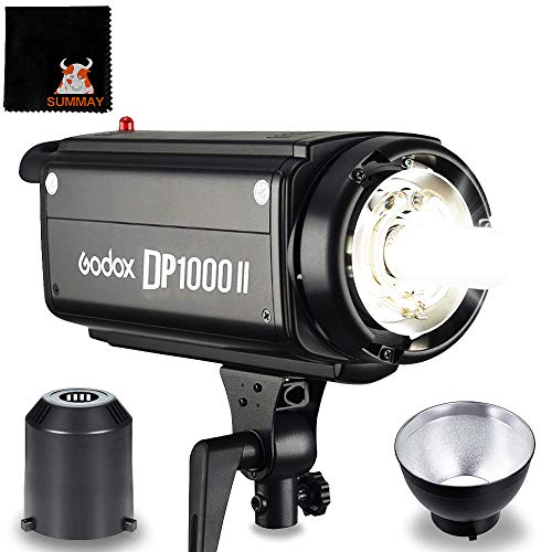 GODOX DP1000II GN92 1000Ws 2.4G HSS 1/8000s Studio Strobe Flash Light (DP1000II)