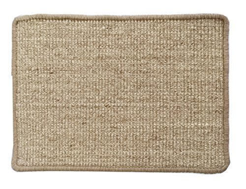 Long Tail Sisal Cat/Kitten Scratching Pad Play Mat and Carpet | Multiple Sizes and Color Options 400Wx600L Reddish Brown