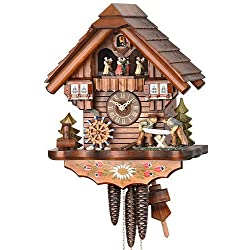 mygermanstore 1 Day Cuckoo Clock Black Forest House