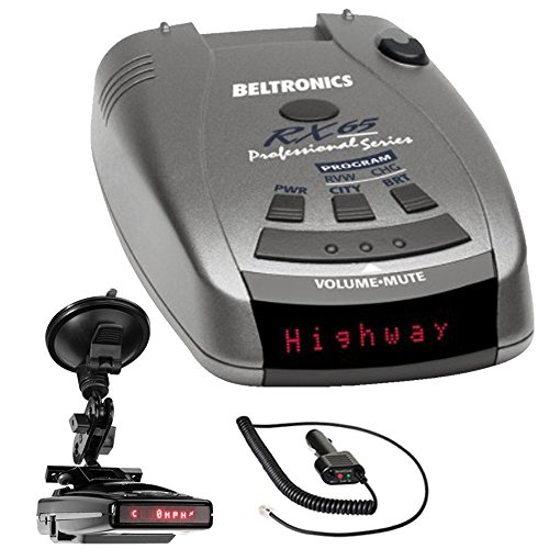 Beltronics RX65 Red Professional Series Radar/Laser Detector with...