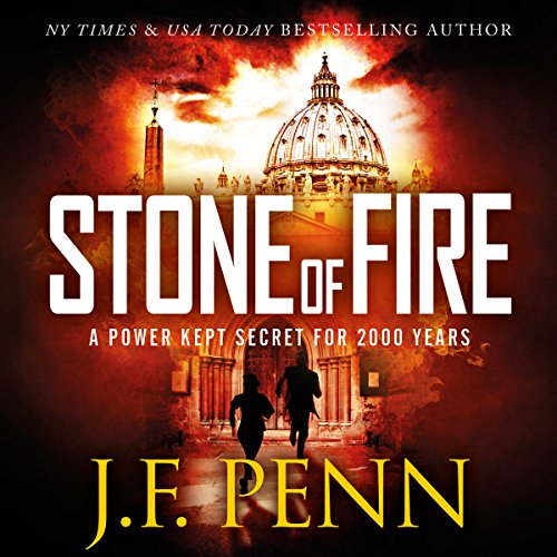 Stone of Fire audiobook cover art
