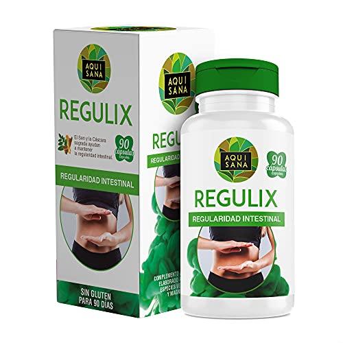 Detox Adelganzante - Detox Aloe Vera | Regulix Aloe -Aquisana | Detox Depurativo, Diurético y Laxante Natural Ayuda a E