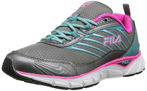 Fila Forward - Zapatillas de Running para Mujer, Color Plateado, Talla 39 EU