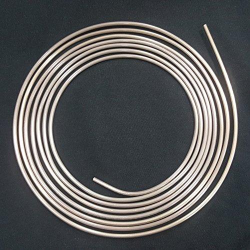 5m Bremsleitung Ø 4,75 mm Kupfer-Nickel Kunifer mit Allgemeiner Betriebserlaubnis ABE Bremsrohr Zubehör-Austausch-Bremsleitungen DIN 74 234 konform nur noch biegen und bördeln
