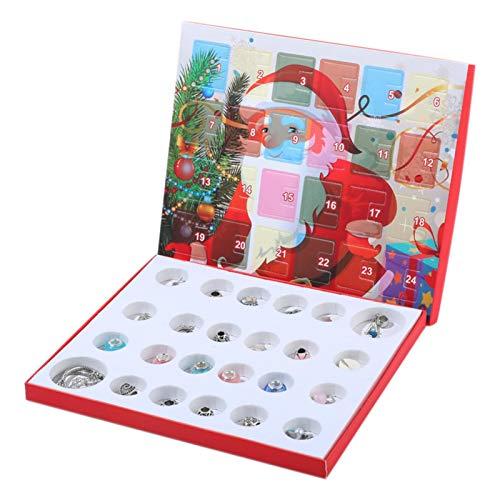 CHENSTAR Schmuck Adventskalender Bettelarmband Adventskalender 2020 Weihnachten Armband Adventskalender Schmuck für Weihnachten Spaß Countdown