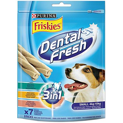 Friskies Dental Fresh Snack Perro Pequeño 110 g - 110 gr 🔥