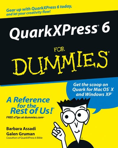 QuarkXPress 6 For Dummies (English Edition)