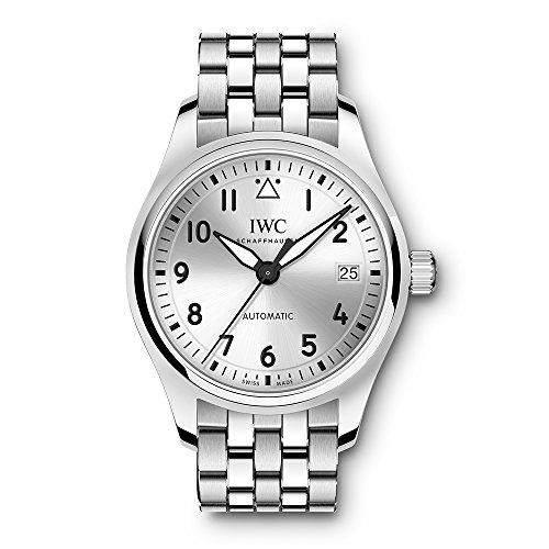 IWC Pilot Herren-Armbanduhr 36mm Armband Edelstahl Automatik Analog IW324006