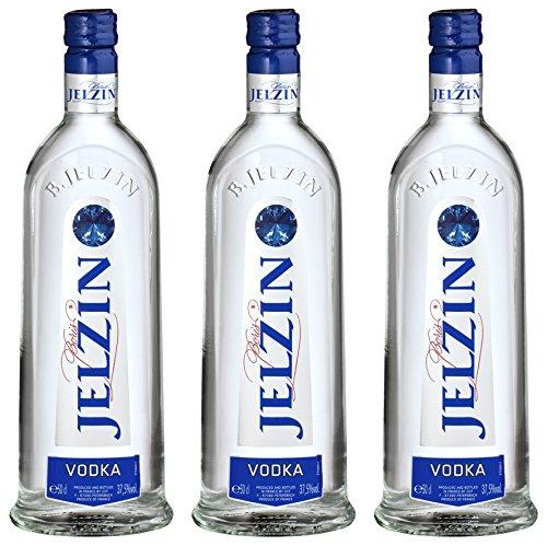 Jelzin Vodka (3 x 0.5 l)